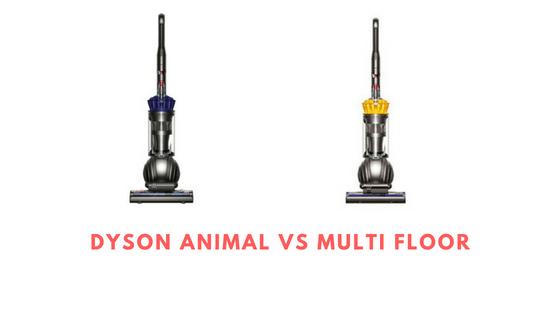 Dyson animal vs multi floor