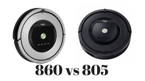 Roomba 860 vs 805
