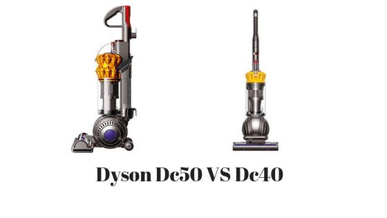 Dyson Dc50 VS Dc40