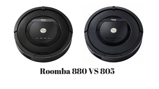 Roomba 880 vs 805
