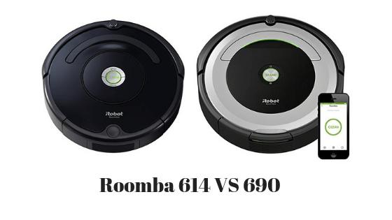 Roomba 614 vs 690