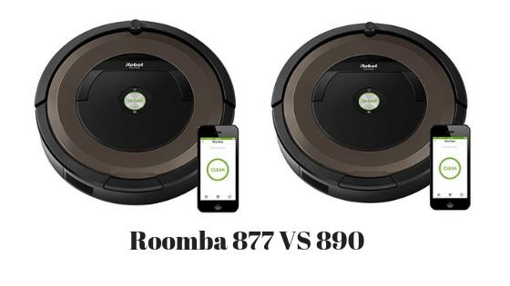 Roomba 877 vs 890