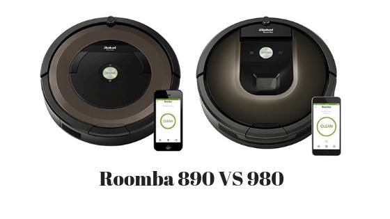 Roomba 890 vs 980