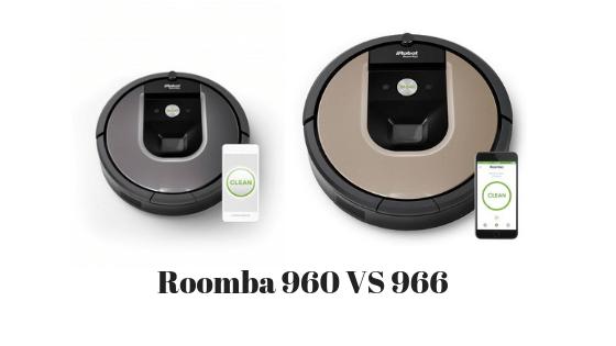 Roomba 960 vs 966