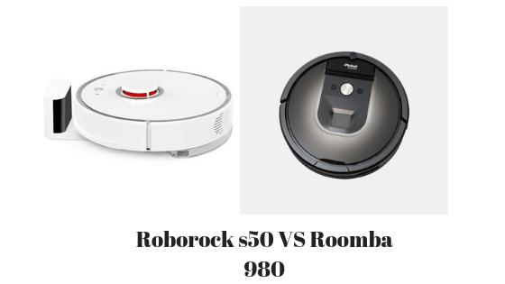 Roborock s50 vs roomba 980